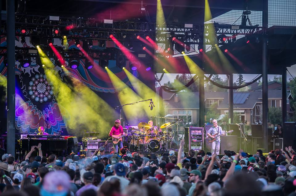 Phish in Bend, Oregon in July 2015