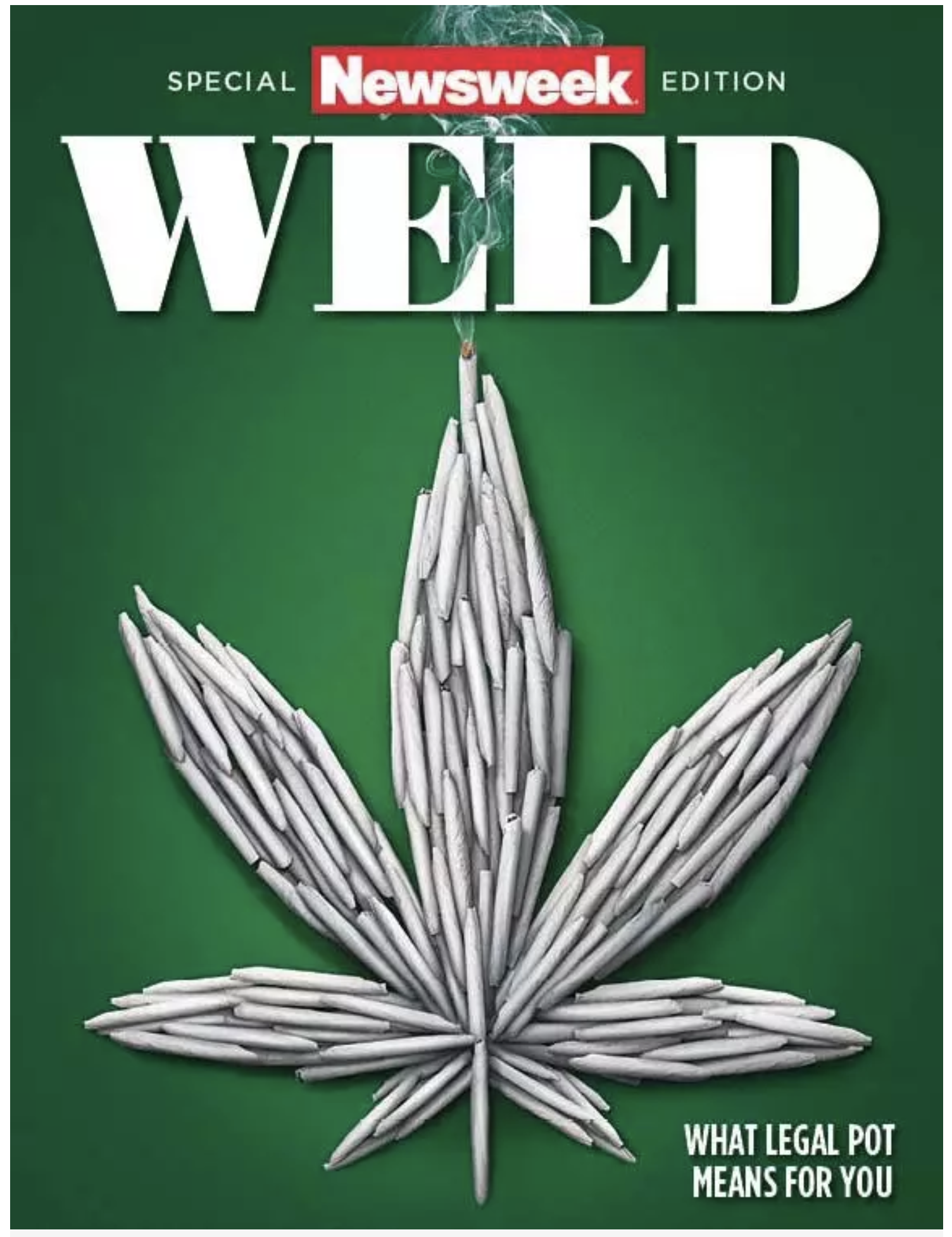 Newsweek Special Weed Edition 2018